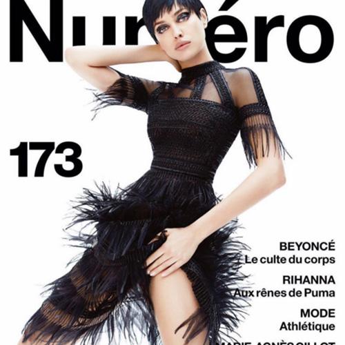 Irina Shayk 2 Irina Shayk è sexy sulla cover di Numèro