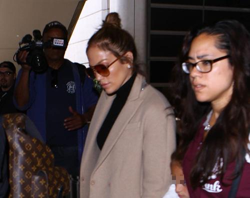 Jennifer lopez 2 Jennifer Lopez viaggia con i suoi bambini