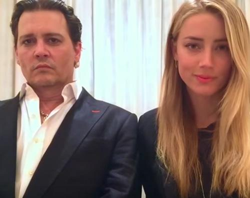 Johnny Depp Amber Heard Amber Heard Johnny Depp mi ha picchiata e Vanessa Paradis lo difende