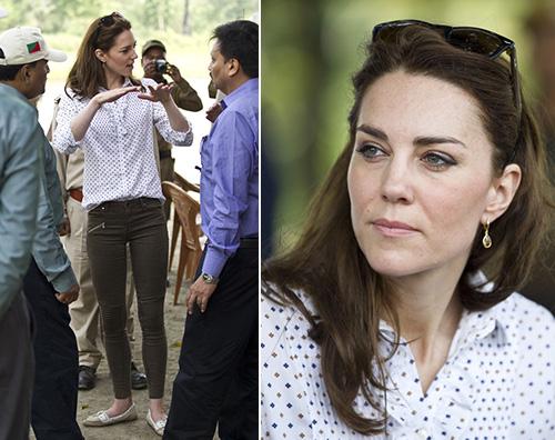 Kate Middleton Tutti i look sfoggiati da Kate Middleton in India