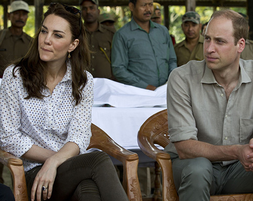 Kate William Tutti i look sfoggiati da Kate Middleton in India
