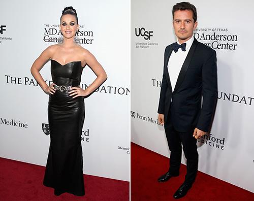 Katy Orlando Orlando Bloom e Katy Perry, primo red carpet di coppia... sepatati