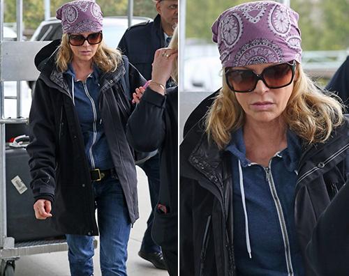 Kim Basinger Kim Basinger lascia Vancouver dopo le riprese di 50 Sfumature di Nero