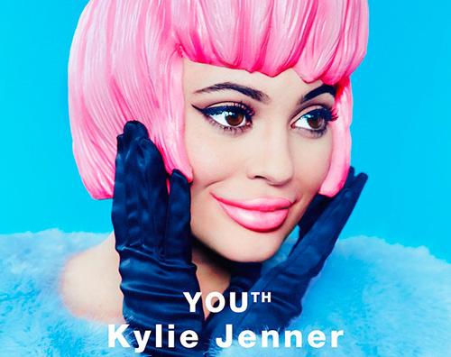 Kylie jenner Kylie Jenner è una bambola di plastica su Paper Magazine
