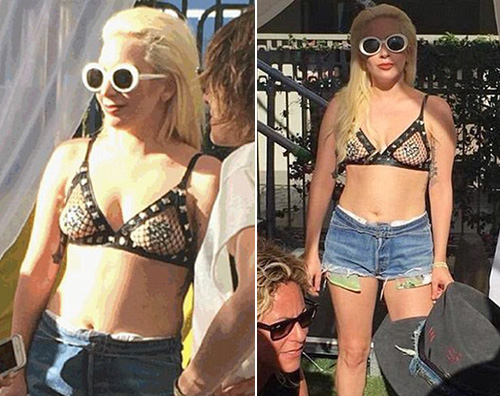 Lady Gaga Lady Gaga, party in piscina nel weekend