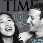 Marck Zuckerberg e Priscilla Chan 150x150 Leonardo DiCaprio è tra le 100 persone più influenti al mondo per il Time