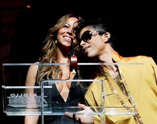 Mariah Carey 1 Mariah Carey ricorda Prince su Instagram