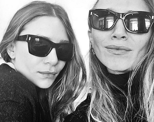 Mary Kate e Ashley Olsen Primo selfie pubblico per le gemelle Olsen