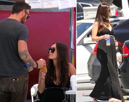 Megan Fox Brian Austin Green Brian Austin Green è il padre del terzo figlio di Megan Fox