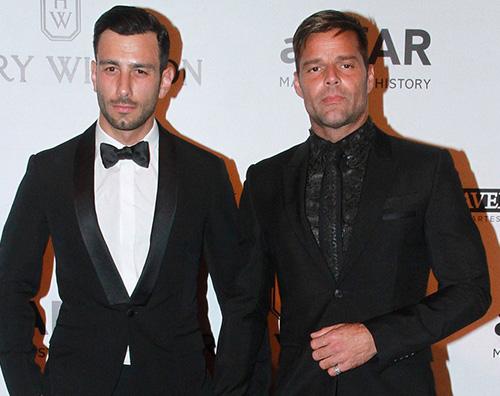 Ricky Martin Ricky Martin è un uomo sposato
