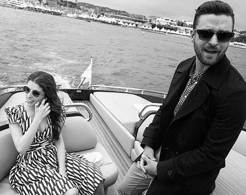 Justin Timberlake Anna Kendrick Justin Timberlake arriva a Cannes