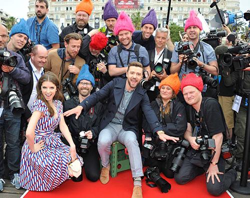 Justin Timberlake Justin Timberlake arriva a Cannes