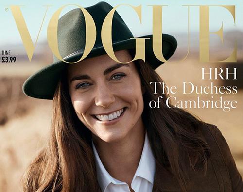 Kate Middleton Cover Kate Middleton, prima cover su Vogue UK