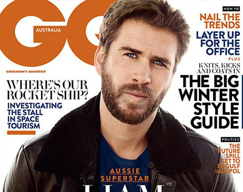 Liam Hemsworth Liam Hemsworth parla di Miley Cyrus su GQ Australia