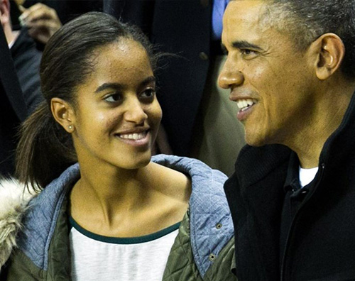 Malia Obama Malia Obama, nel 2017 sarà una matricola di Harvard