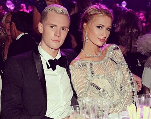 Paris Hilton e Barron Hilton Paris Hilton a Cannes col fratello Barron