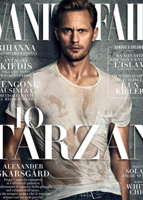 Alexander 2 Alexander Skarsgard  sulla cover di Vanity Fair Italia