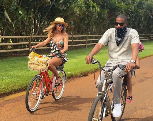 Beyonce 1 Beyonce alle Hawaii con la sua famiglia