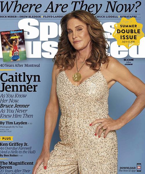 Caitlyn Jenner 2 Caitlyn Jenner sulla cover di Sport Illustrated