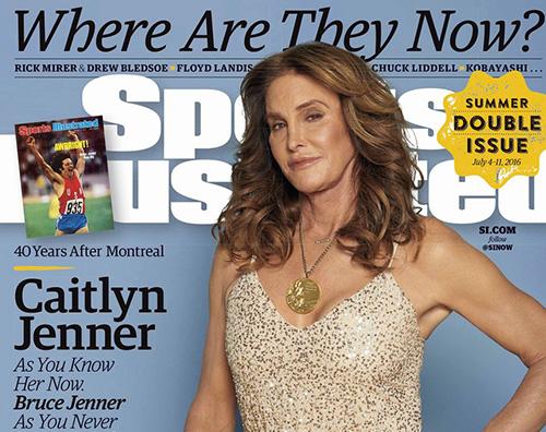 Caitlyn Jenner Caitlyn Jenner sulla cover di Sport Illustrated