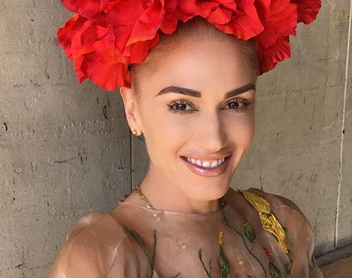 Gwen Stefani Gwen Stefani come Frida Kahlo su Twitter
