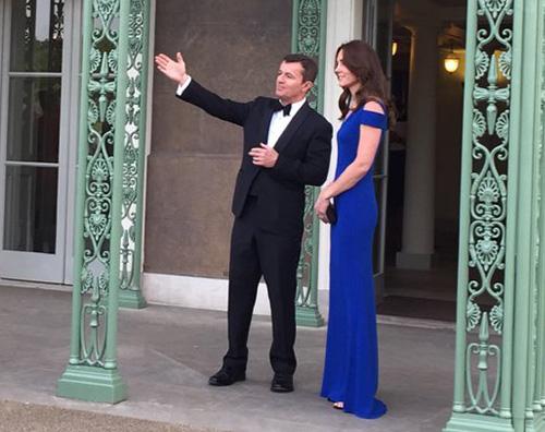 Kate Middleton 2 Kate Middleton sempre più magra alla  SportsAid's 40th Anniversary Dinner