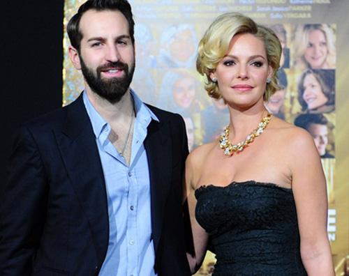 Katherine Heigl con il marito Katherine Heigl è mamma di un maschietto