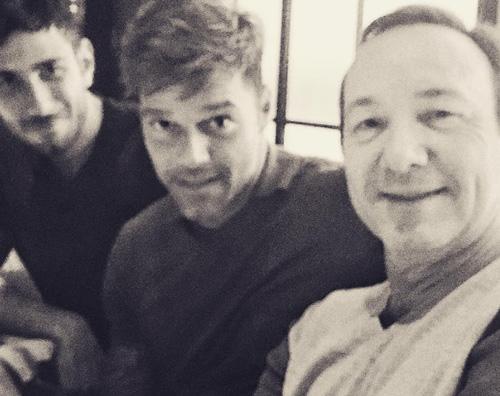 Ricky Martin Ricky Martin a Milano con Jwan Yosef