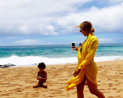 beyonce 3 Beyonce alle Hawaii con la sua famiglia