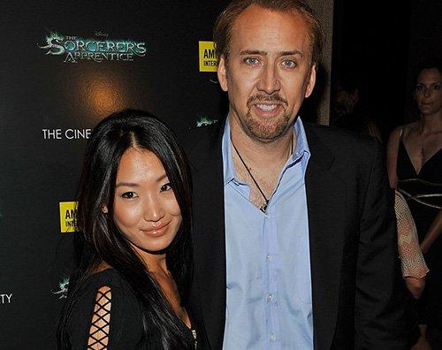 Nicolas Cage Nicolas Cage chiede lannullamento del matrimonio con Erika Koike