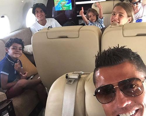 Cristiano Ronaldo 1 Cristiano Ronaldo a Ibiza con la famiglia