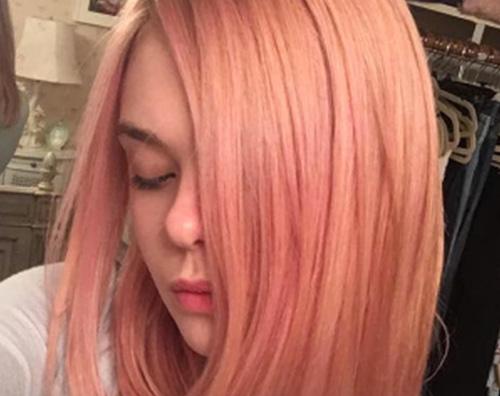 Elle Fanning Capelli rosa per Elle Fanning