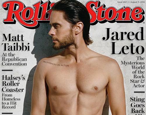 Jared Leto 2 Jared Leto è il protagonista di Rolling Stone