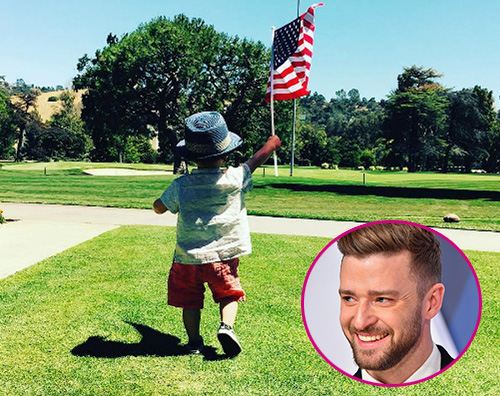 Justin Timberlake Silas Silas Timberlake ha imparato a camminare