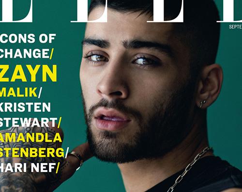 Zayn Malik Zayn Malik protagonista di Elle UK