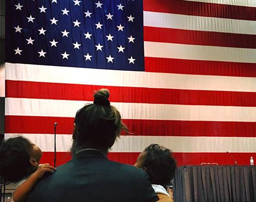 Zoe Saldana Zoe Saldana, Marco Perego diventa cittadino americano