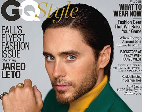 Jared Leto Jared Leto protagonista autunnale su GQ Style