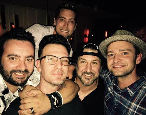 Justin Timberlake NSync Reunion d agosto per gli N Sync