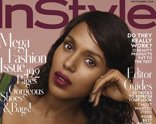 Kerry Washington Kerry Washington protagonista di In Style Magazine