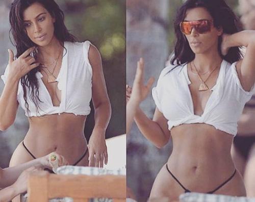 Kim Kardashian 2 Khloe Kardashian Il fisico di Kim è la mia motivazione