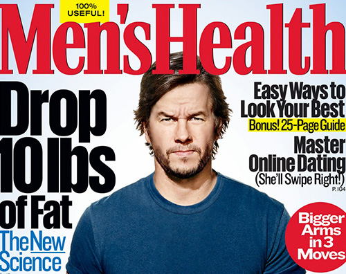 Mark Wahlberg Mark Wahlberg mostra il fisico su Mens Health