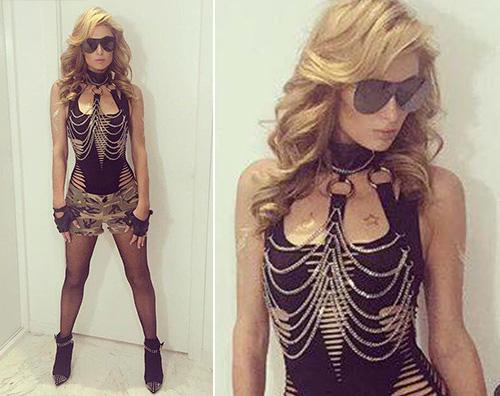 Paris Hilton Paris Hilton, soldatessa sexy per il party