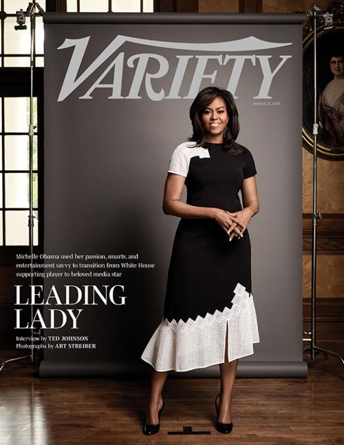 michelle obama variety cover Michelle Obama Sono un prodotto della cultura POP