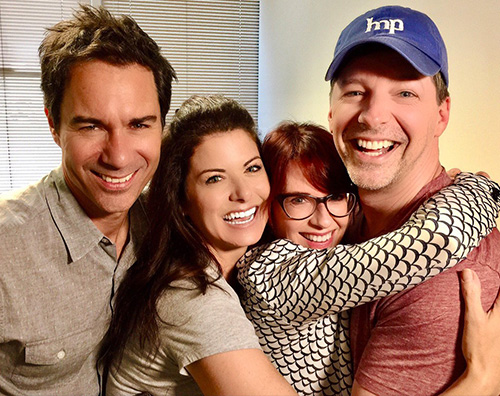 Cast Will e Grace Reunion per il cast di Will e Grace