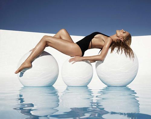 Heidi Klum 1 Cover in bikini per Heidi Klum