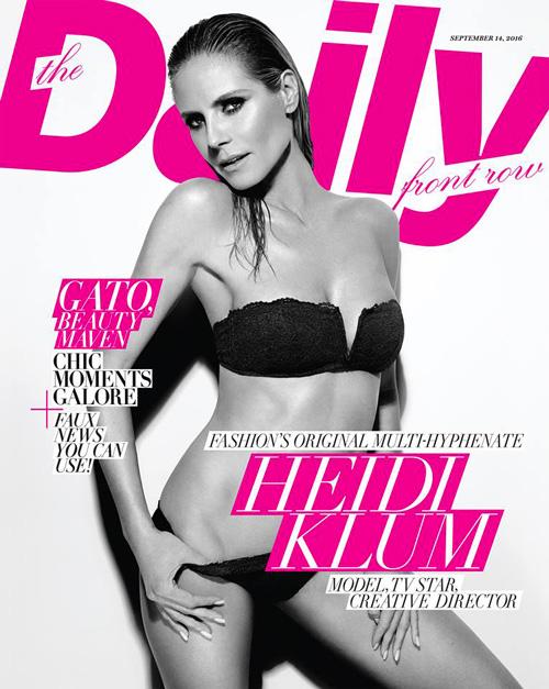 Heidi Klum Cover in bikini per Heidi Klum