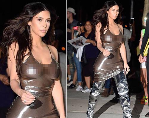 Kim 2 Kim Kardashian sobria per lo show di Kanye