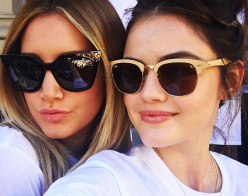 "Lucy Hale Ashley Tisdale 2 Ashley Tisdale e Lucy Hale alla ""L.A. St. Jude Walk/ Run 2016"""