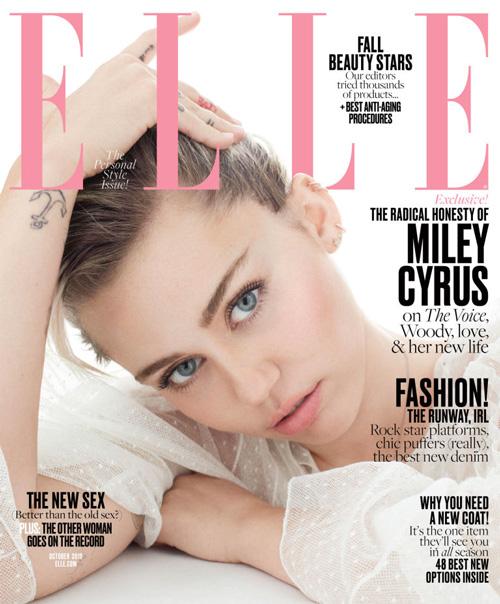 Miley Cyrus Cover Miley Cyrus parla del suo addio ai red carpet su Elle