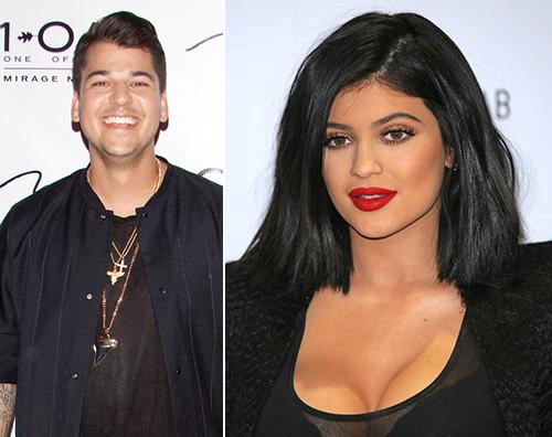 Rob Kardashian Kylie Jenner Rob Kardashian è arrabbiato con le sue sorelle